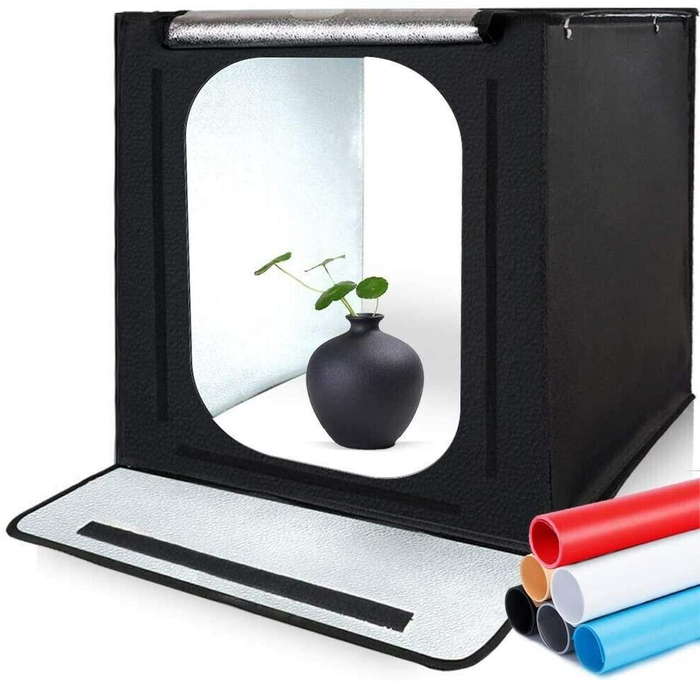 SAMTIAN 24x24x24 Inches Professional Light Box