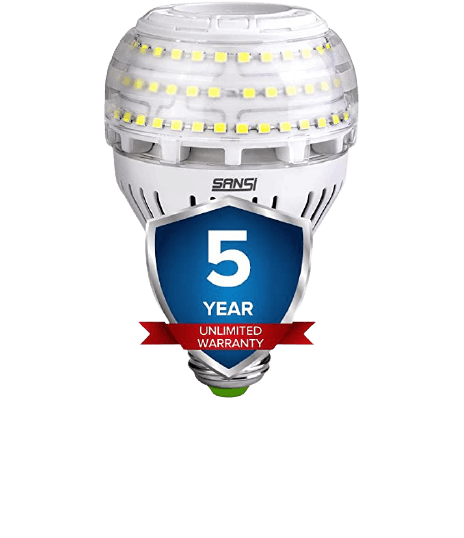A21 Omni-Directional Ceramic LED Light Bulbs-Best Budget Photography Bulb