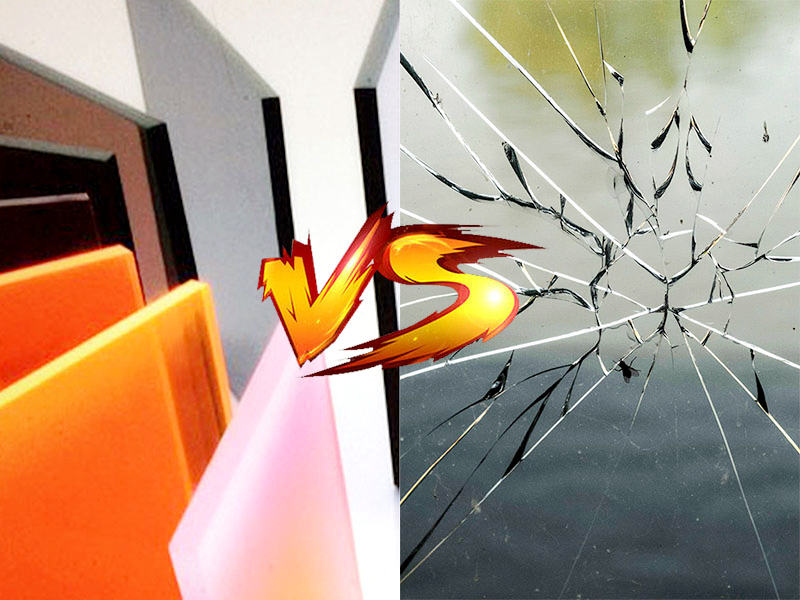 Plexiglass vs. Glass