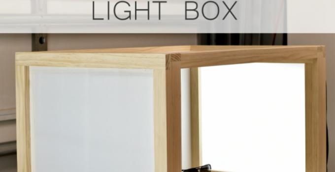 How to Make a Photo Light Box