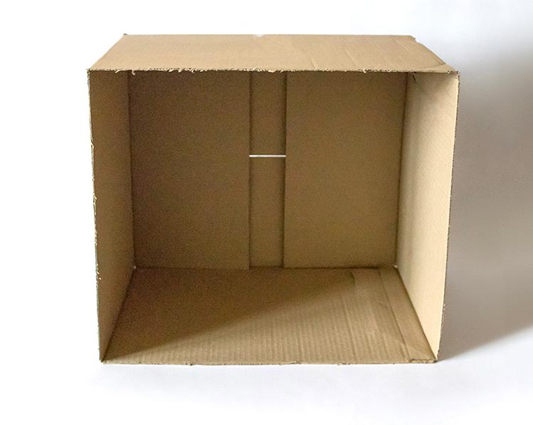 Step 1. Choose a Cardboard Box